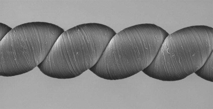 Carbon nanotube 'twistron' yarn generates electricity when stretched