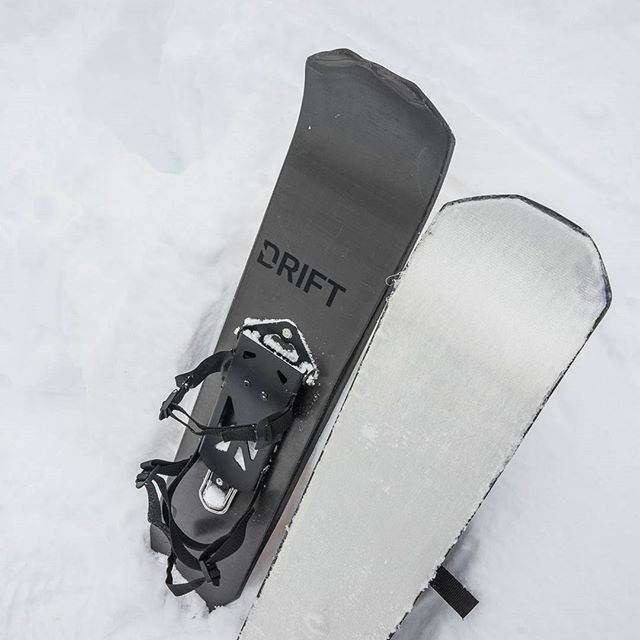 New Products – DRIFT Carbon Fiber Snow Travel Board