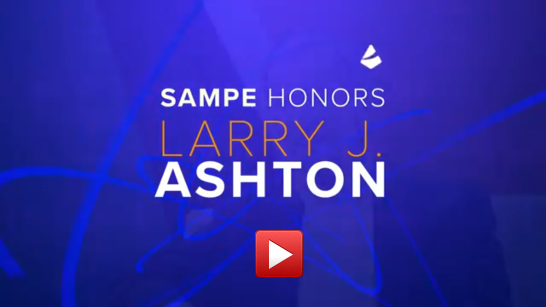 Utah's Larry Ashton Posthumously Honored with SAMPE Lubin Award