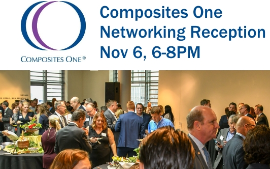 Nov 6th – Composites One Networking Reception