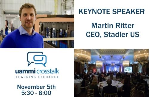 Nov 5th – CrossTalk Keynote & Dinner Event