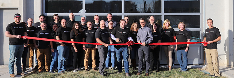 Rock West Composites Opens New Filament Winding Facility