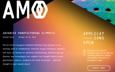 Additive Mfg Olympics – Oct 2020