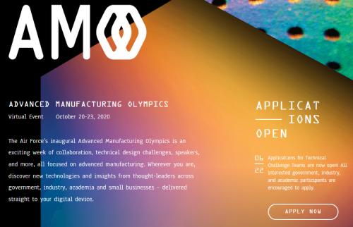 Additive Mfg Olympics – Oct 2020