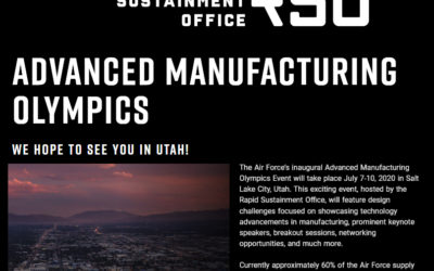 Additive Mfg Olympics – Nov 2020