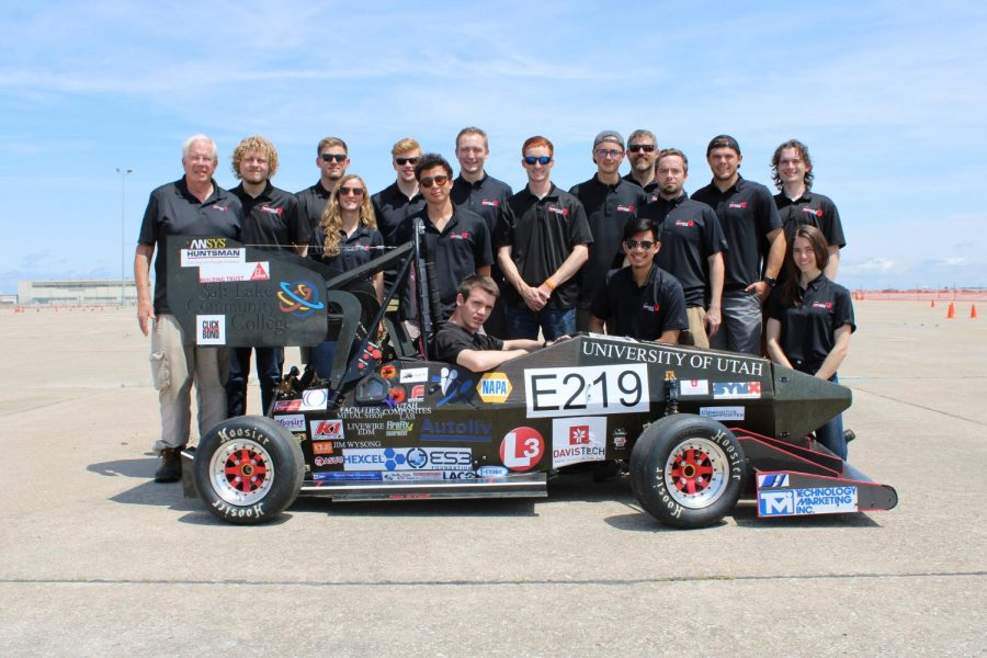 UofU to Race Carbon Fiber Car in Formula SAE Competition