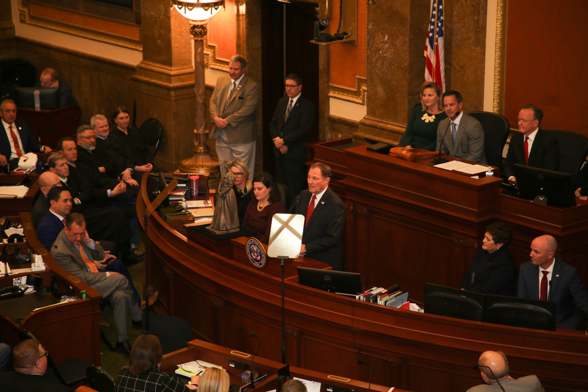 UAMMI Recognized by Governor During State of the State Address