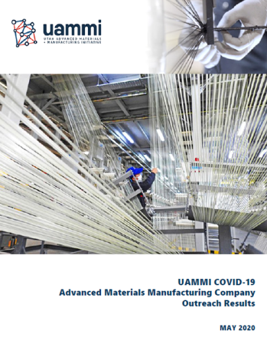 Report of COVID-19 Economic Effects on Utah's Advanced Materials & Manufacturing Industry