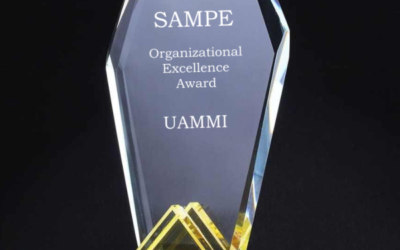 "UAMMI Wins SAMPE'S Prestigious  ""Organizational Excellence"" Award"