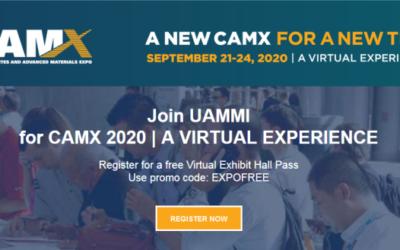 UAMMI to Participate in CAMX 2020 Virtual Tradeshow
