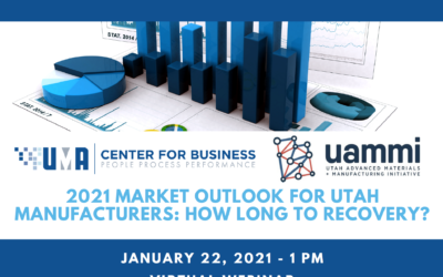 Utah Manufacturing Webinar: How Long to Recovery?