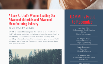 Recognizing the Women Leading Utah's Advanced Manufacturing Industry