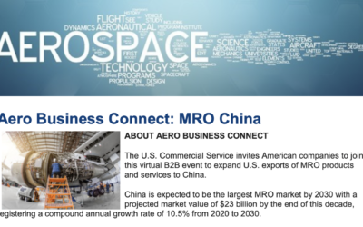 Aero Business Connect: MRO China hosted by U.S. Commercial Service