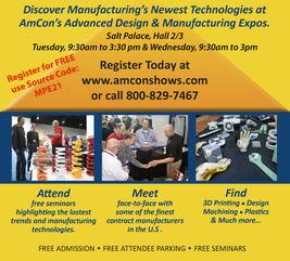 AmCon Advanced Design & Manufacturing Expos